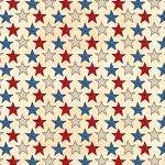 American Honor - Stars - Ivory/Multi