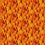 American Trucker - Flames