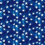American Trucker -  Navy Tossed Stars