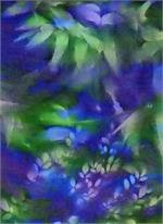 Bali Sun Print Purple/Green by Batik Textiles