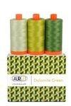 Aurifil Color Builder Dolomites Green 3pc.