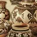 Adobe Pots and Baskets Sand