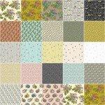 Bubbies Buttons & Blooms, Fat Quarter 23pcs/bundle
