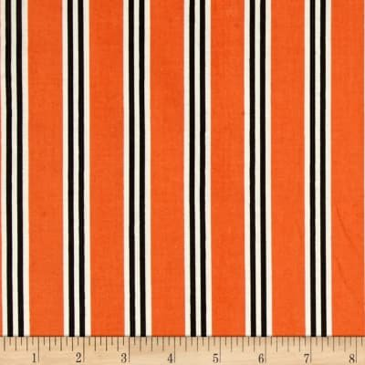 Candelabra Candy Stripe Orange