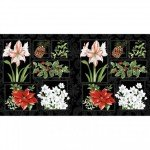 Holidays Remembered Panel Black