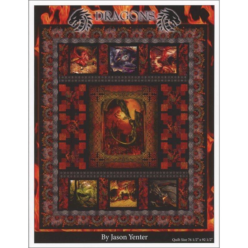 Dragons Kit - Red -  by Jason Yenter