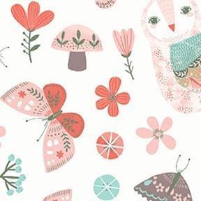 Forest Owl - White