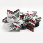 Jingle Stars -Silver Fat Quarter Bundle