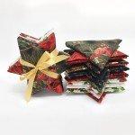Jingle Stars -Gold Fat Quarter Bundle
