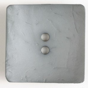 Button Square Pewter 60mm