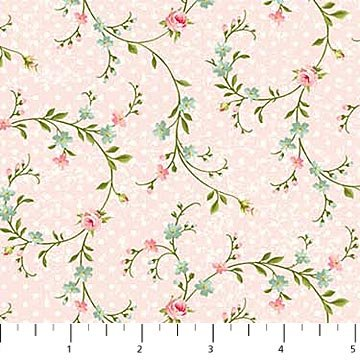 Hopelessly Romantic Tossed Sm Floral Pink