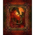 Dragons - Large Castle - Red - Digital Panel