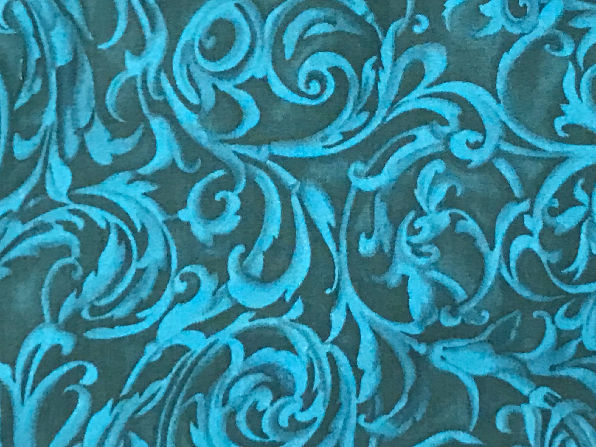 Baroque Teal by Kona Bay
