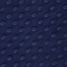 Minky Dimple Dot Navy