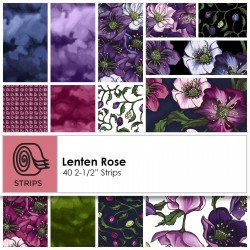 Lenten Rose 2 1/2 Strip Roll (40pcs)