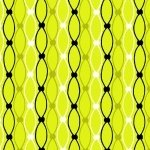 Licorice Candy Netting Stripe Lime