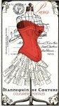 Couturiere Parisienne Postales Panel - Cream