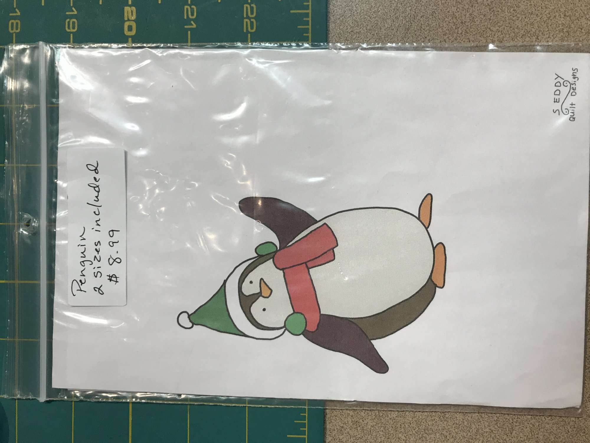 Christmas Penguin (2sizes)