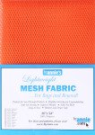 ByAnnie's Lightweight Mesh Fabric 18X54 100% Polyester-Pumpkin