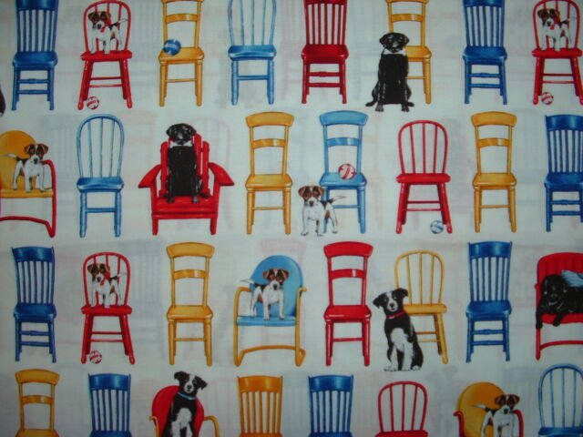 Pups On Chairs