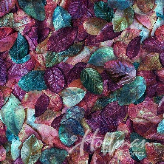 Leaf Me Be Digital Print Purple Haze