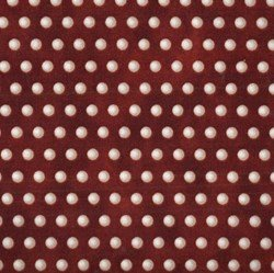 Roosters Dots - Red