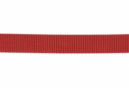 Nylon Webbing 1in Red by the yard
