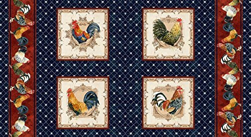 Roosters - Panel/Repeat
