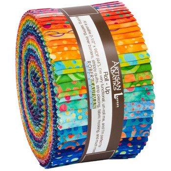 Artisan Batiks: Roll Ups: Round and Around
