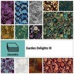 Garden Delights III 10 x 10 Squares