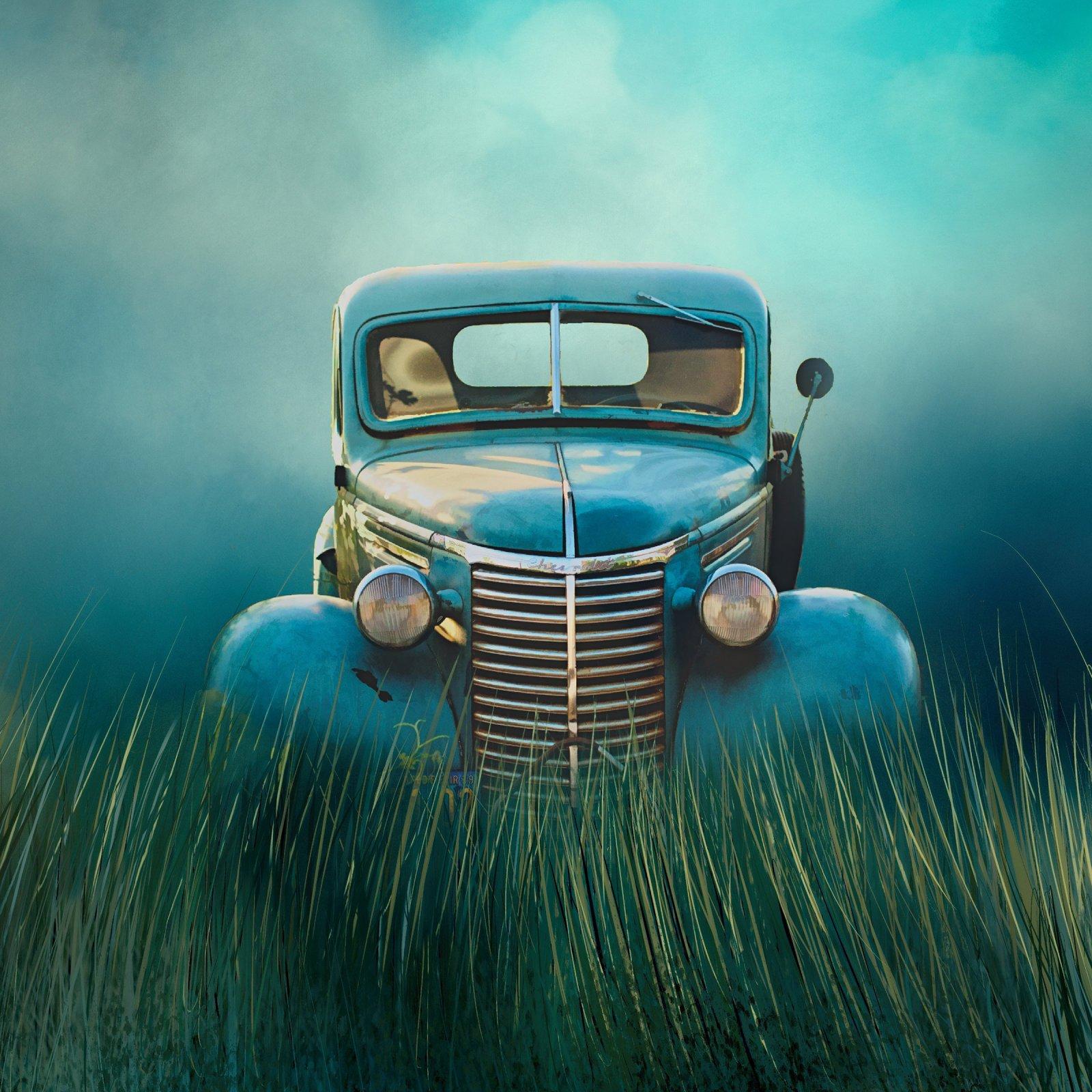 Classic Turquoise Truck