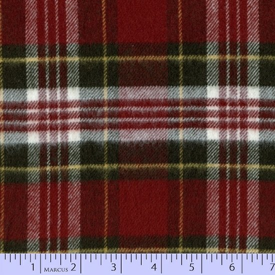 Flannel Primo Plaid Xmas III by Marcus Brothers