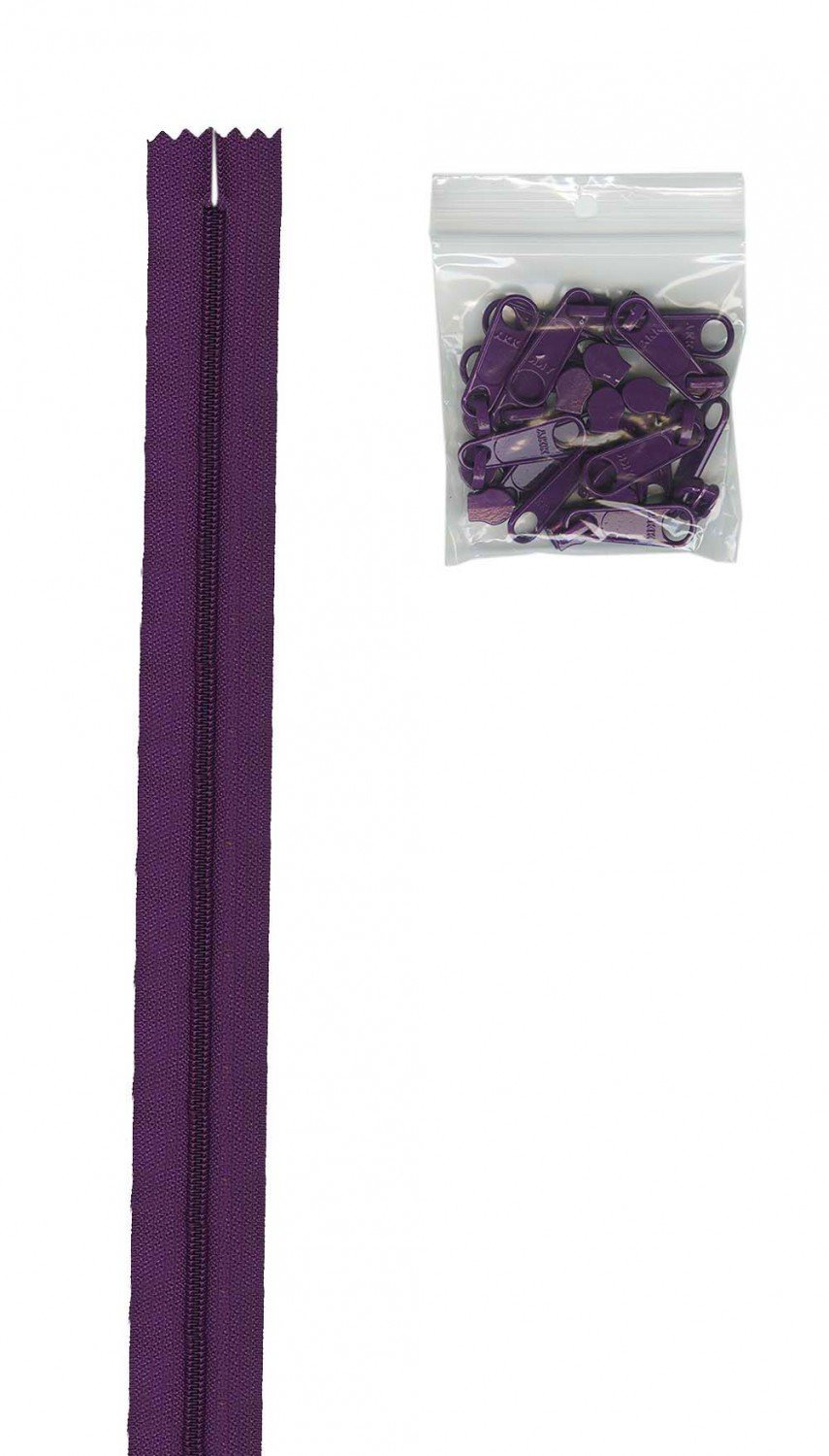 Zippers By The Inch 16mm #4.5 zipper chain Tahiti