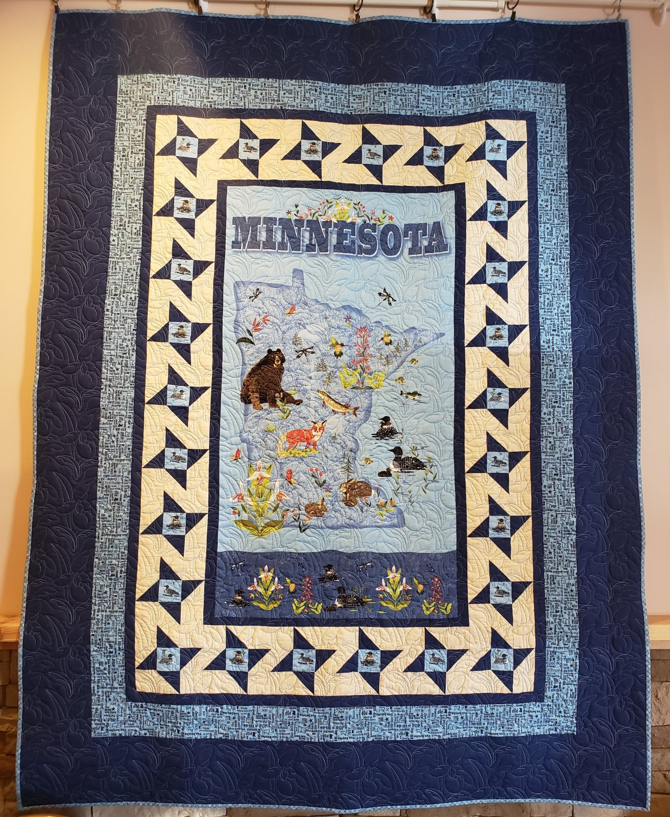 Minnesota Friendship Quilt