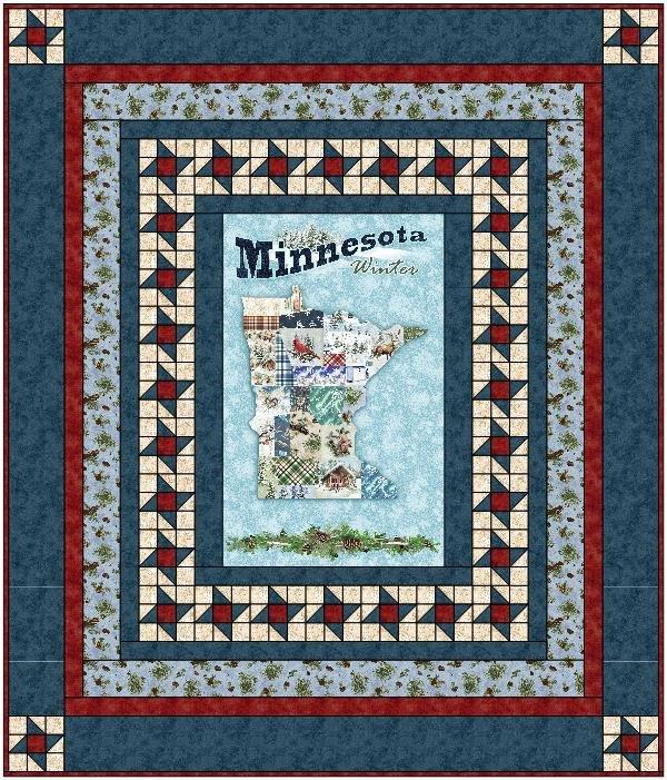 Quilt MN 2021 Blue Quilt