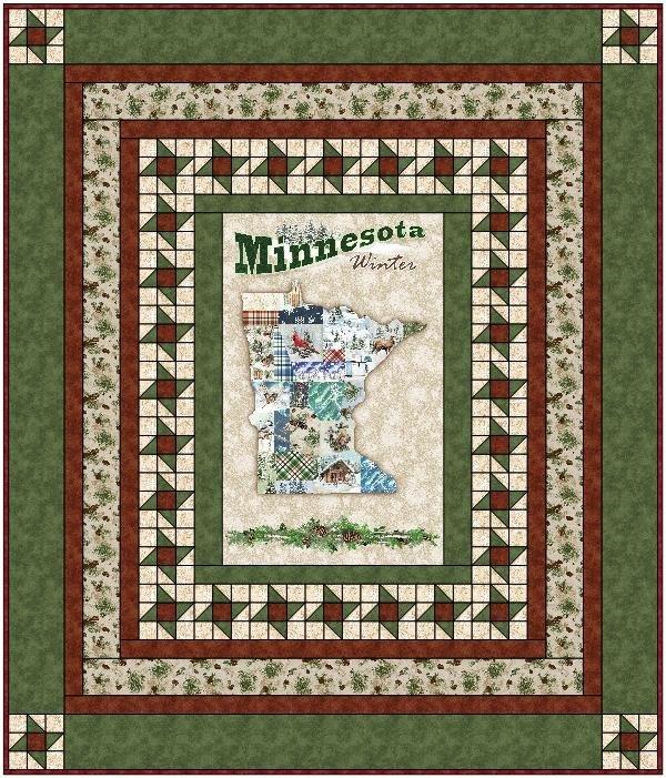 Quilt MN 2021 Green Quilt