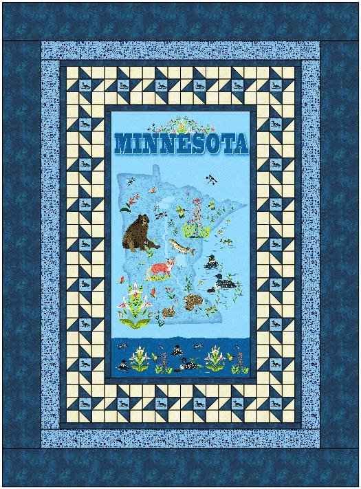 Minnesota Friendship Quilt Pattern