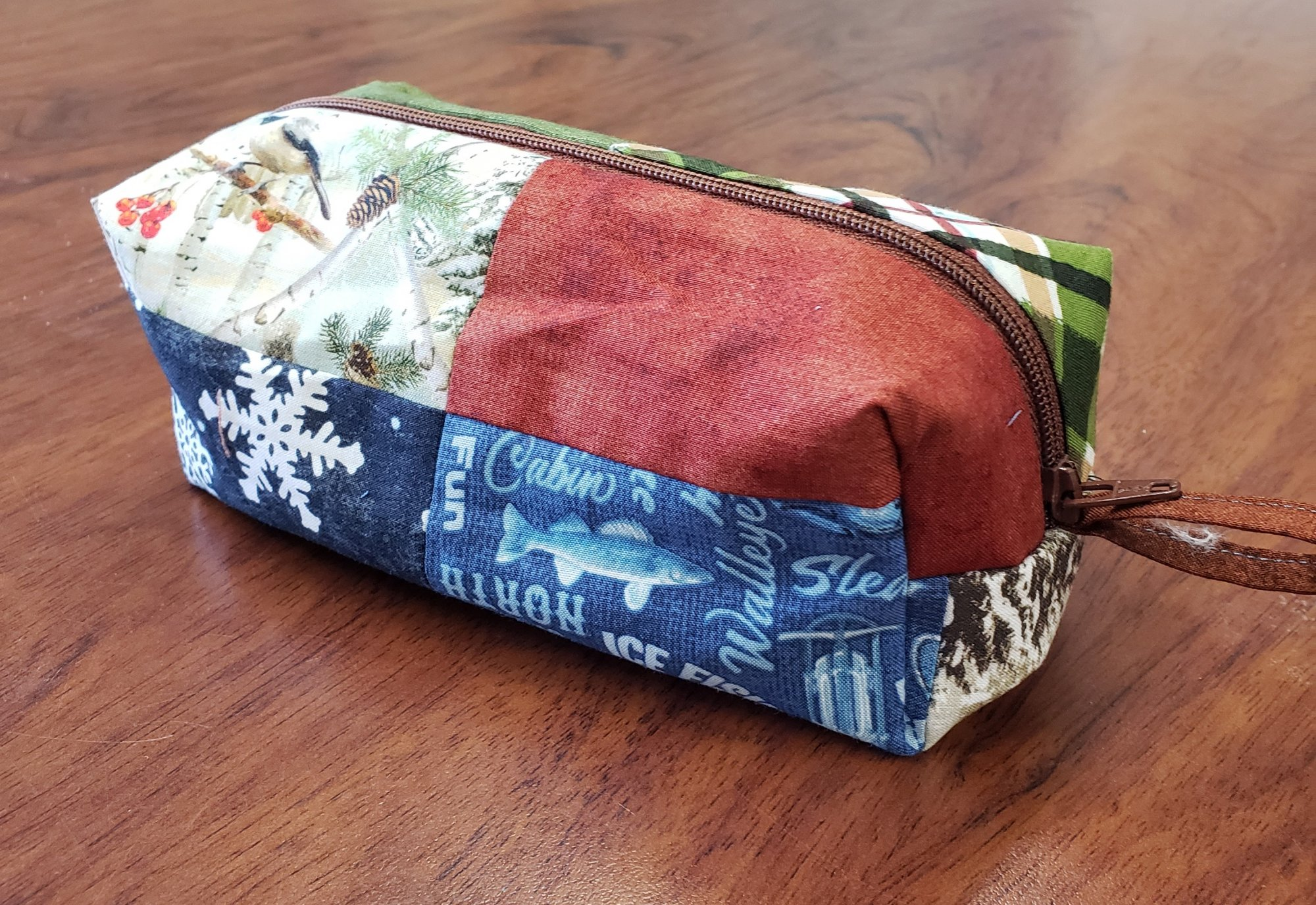 Quilt MN 2021 Patchwork Pouch Kit