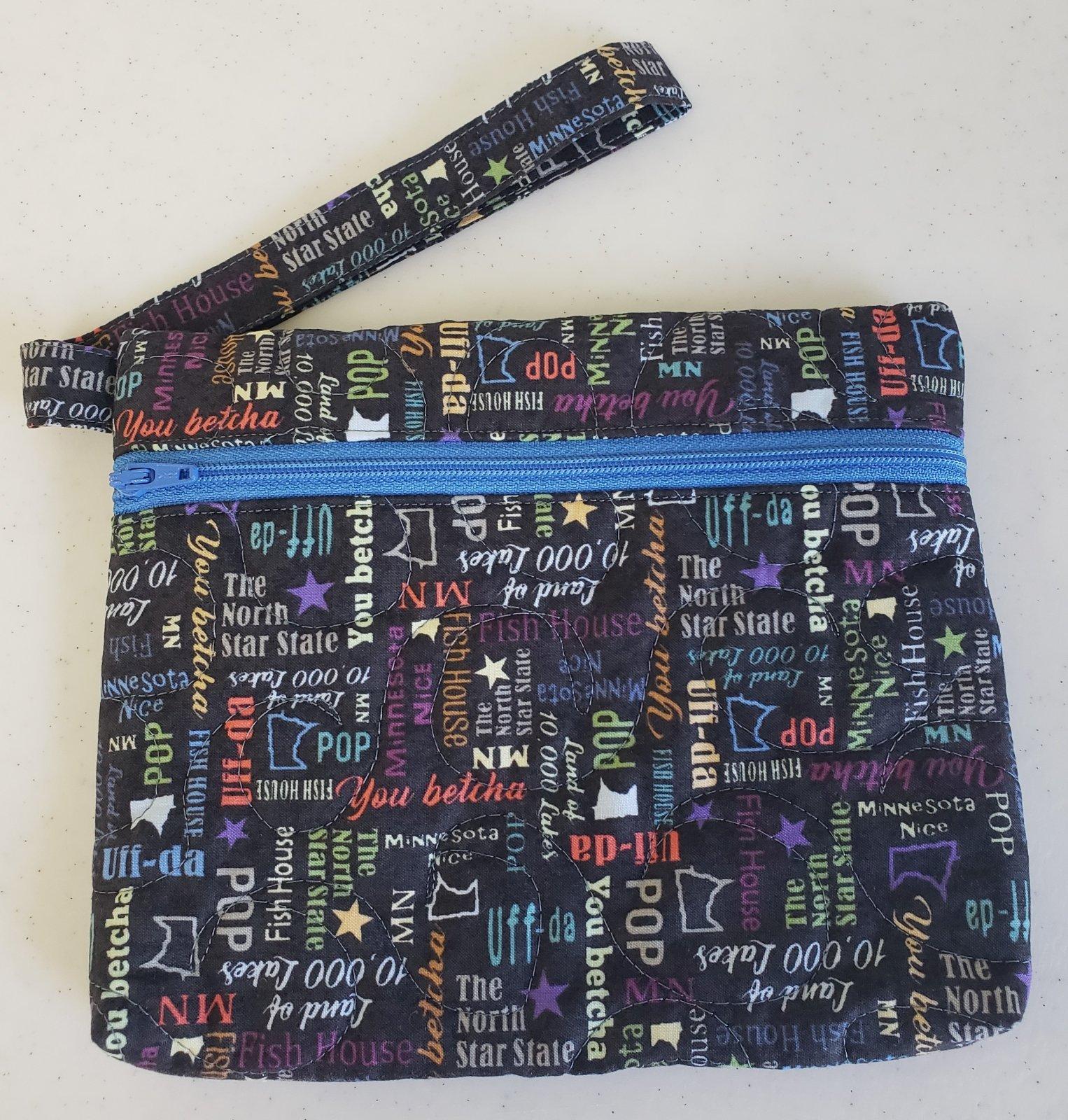 Quilt MN 2020 Quick Zip Bag Kit