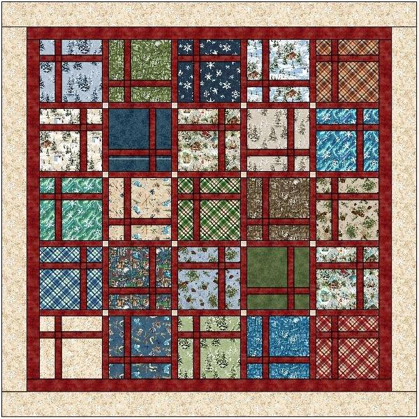 Quilt MN 2021 Cut-Up Quilt Kit