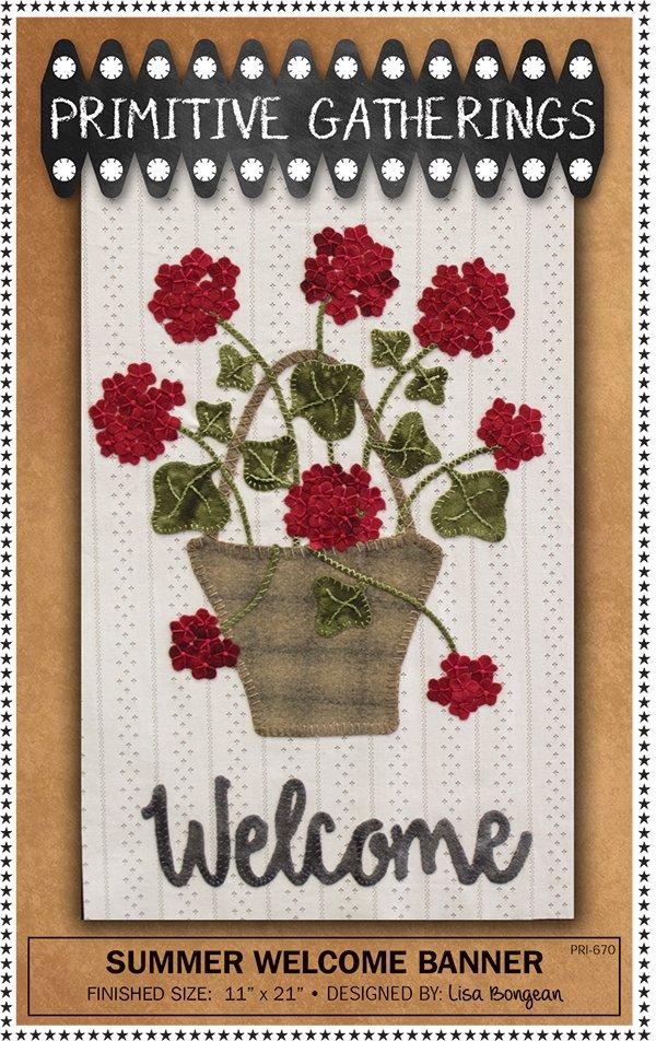 Summer Welcome Banner Kit