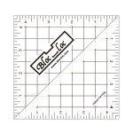 Bloc Loc - Half Square Triangle Ruler 4.5