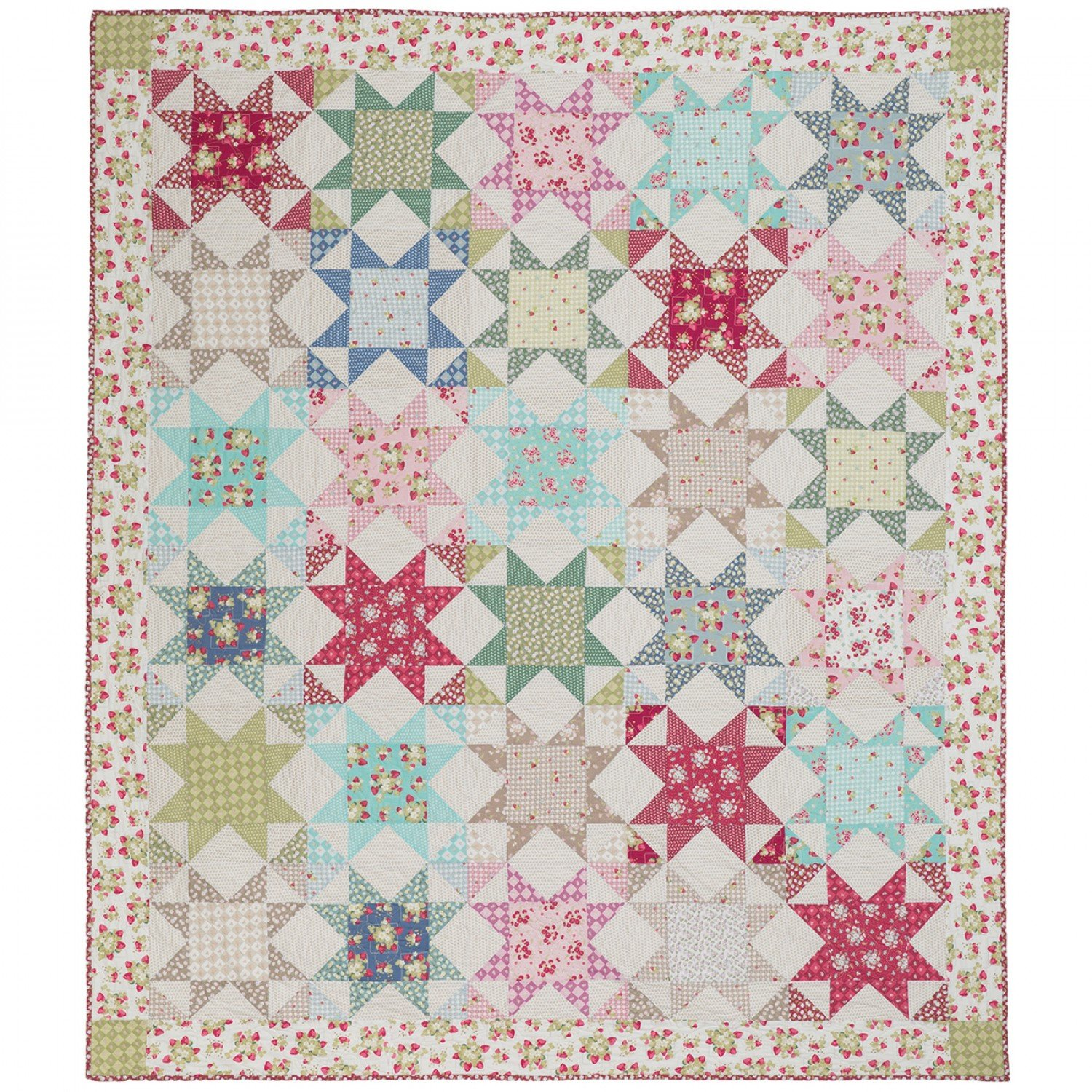 Quilting in the Rain Kit - 69 x 81