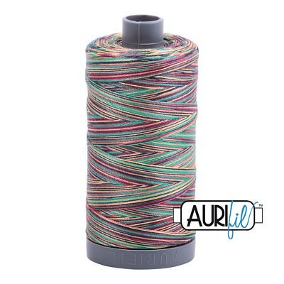 Aurifil 28/2 Cotton Variegated 820yds - #3817 Marrakesh