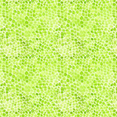 Bloom True - Green Pebble Texture
