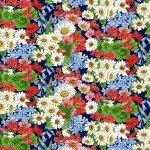 America The Beautiful - Blue Birds & Flowers