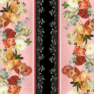 Les Fleurs Pink Stripe