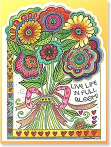 Birthday Card: Full Bloom