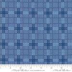 Regency Ballycastle Chintz - Plaid English Blue