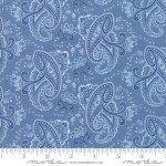 Regency Ballycastle Chintz - Paisley English Blue